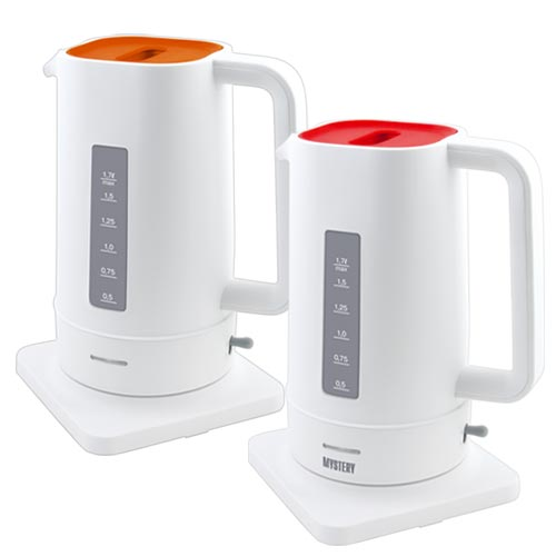 Electric Kettle Mystery MEK-1618 White/Red