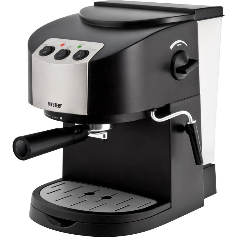 Рожковая кофеварка эспрессо Mystery MCB-5120
