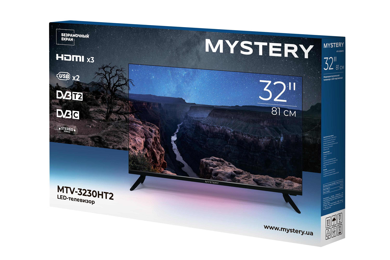 Безрамочный телевизор Mystery MTV-3230HT2