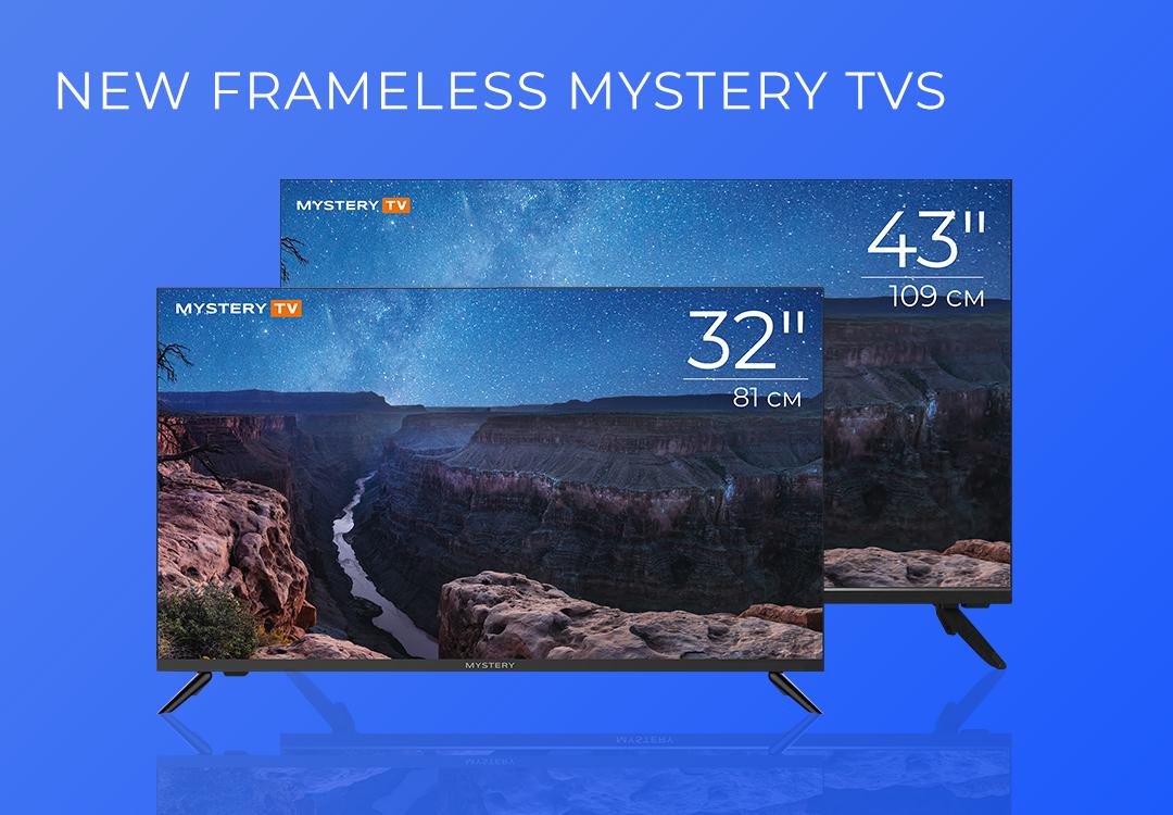 New Frameless Mystery TVs