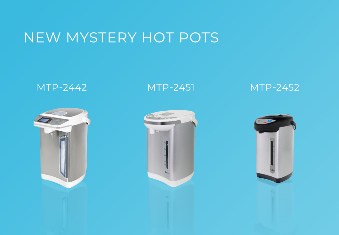 New Mystery Thermopots